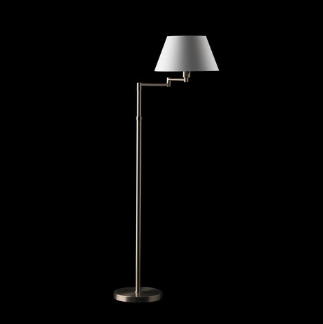 Hansen 3982 lamp of Floor Lamp ní­quel mate