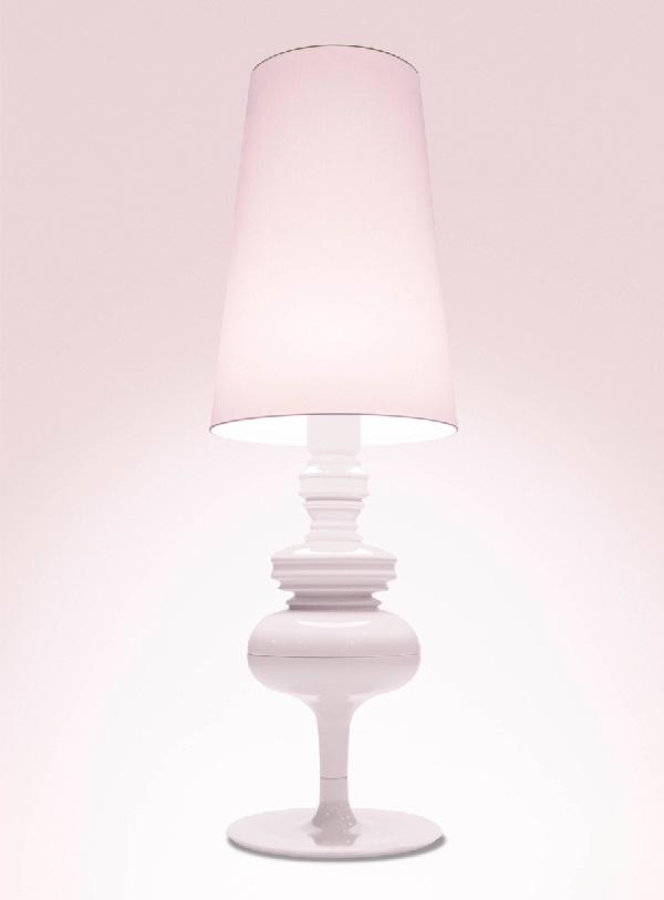 Josephine X Structure lámpara of Floor Lamp edición limitada pink bunny