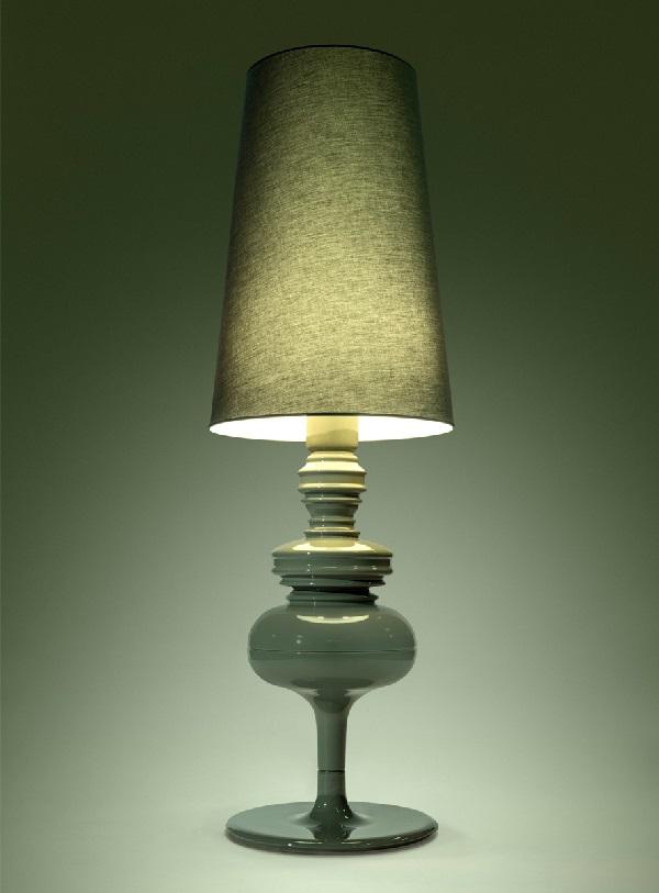 Josephine X Struktur lámpara von Stehlampe edición limitada danish pine green