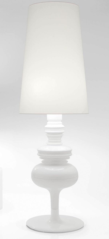 Josephine X Struktur lámpara von Stehlampe weiß