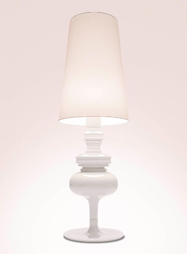 Josephine X Struktur lámpara von Stehlampe edición limitada Sahne brancusi