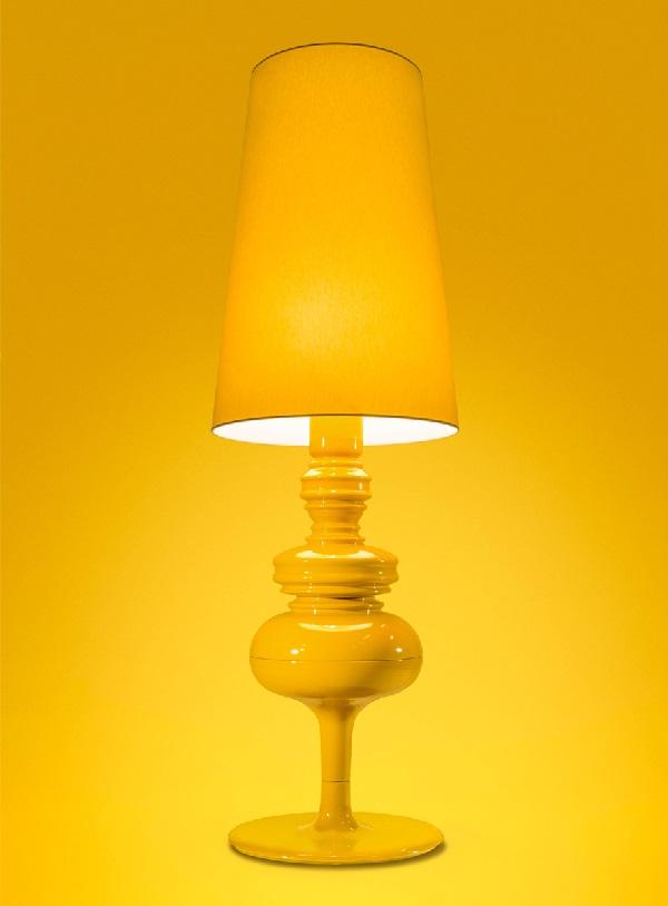 Josephine X Struktur lámpara von Stehlampe edición limitada mango tropical