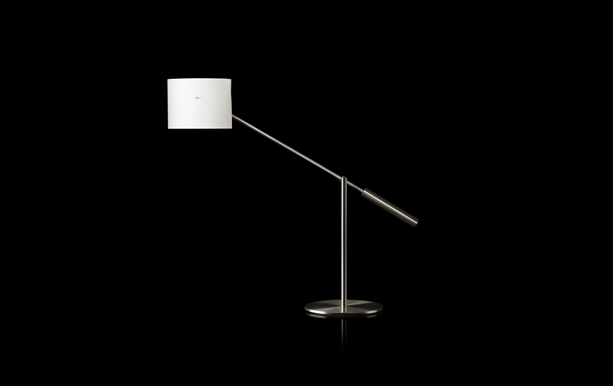 Libra m Table Lamp Structure Nickel mate