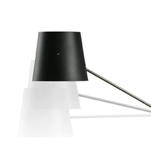 Libra (accesorio) pantalla cónica Aluminio negro