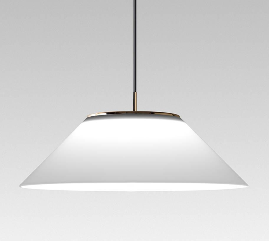 Pamela t (Accesorio) Pantalla para lámpara colgante ø50x20cm PMMA Blanco
