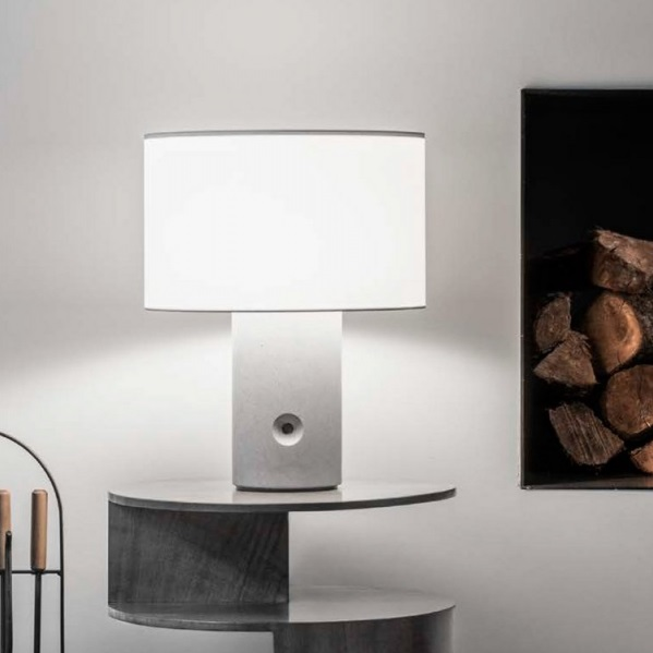 Sharon (Sólo Structure) Table Lamp without lampshade stone técnica E27