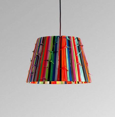 Shoelaces t Me Pendant Lamp multicolour