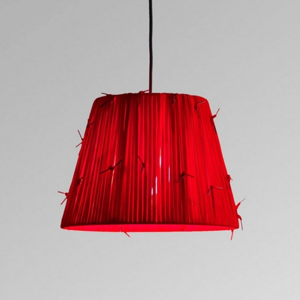 Shoelaces t Me Pendant Lamp Red