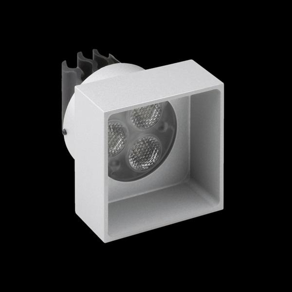 ELEMENT Recessed Medium LED Aluminium