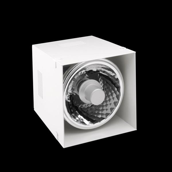 ELEMENT Recessed HQI 1L Aluminium