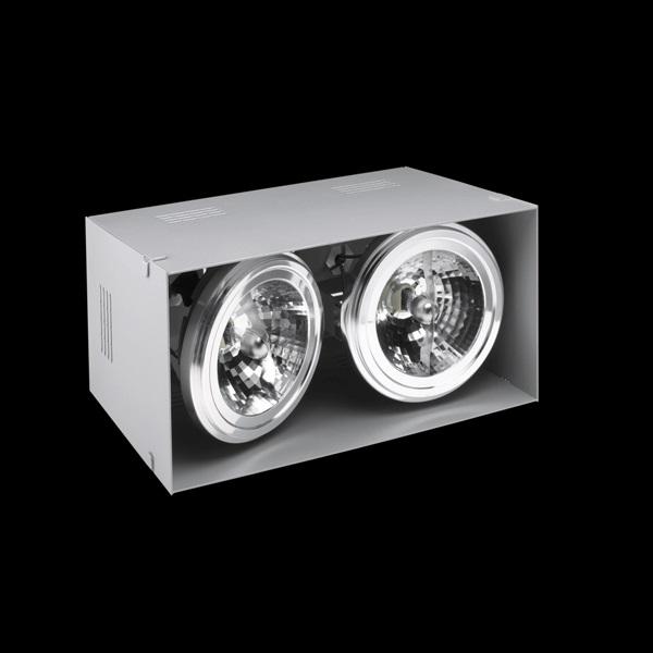 ELEMENT Recessed 12V/LED 2L Aluminium