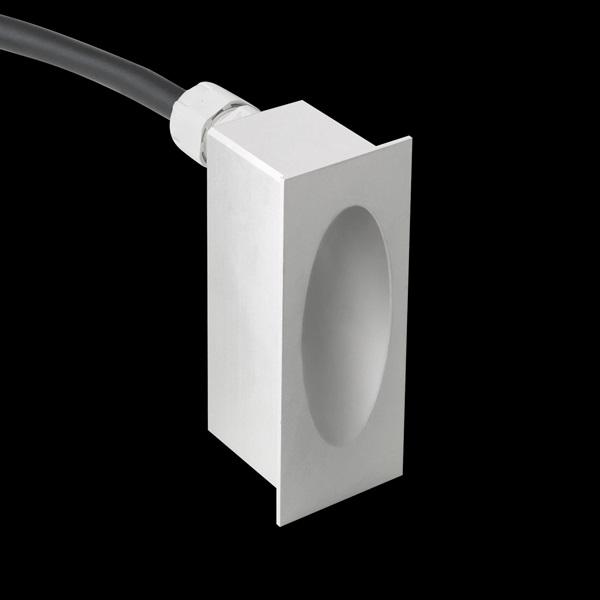 Shade white Aluminium white Cálido 2700K