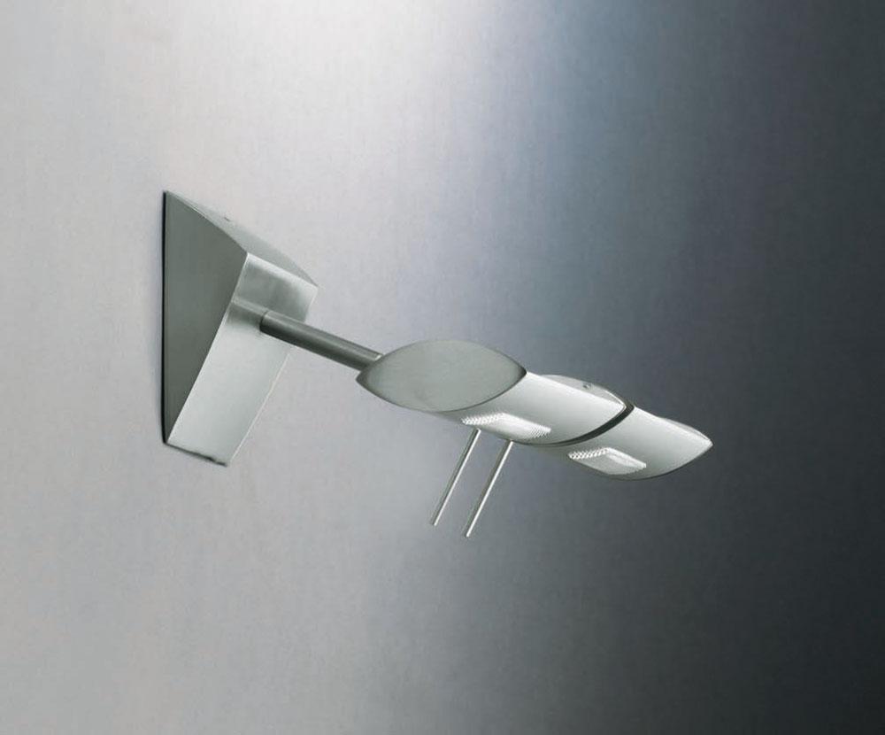 Wall Lamp Halogen linear nikel