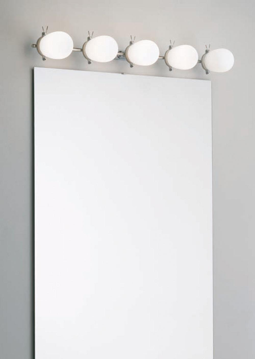 Baño Wall Lamp 5 lights Aluminium Anodized