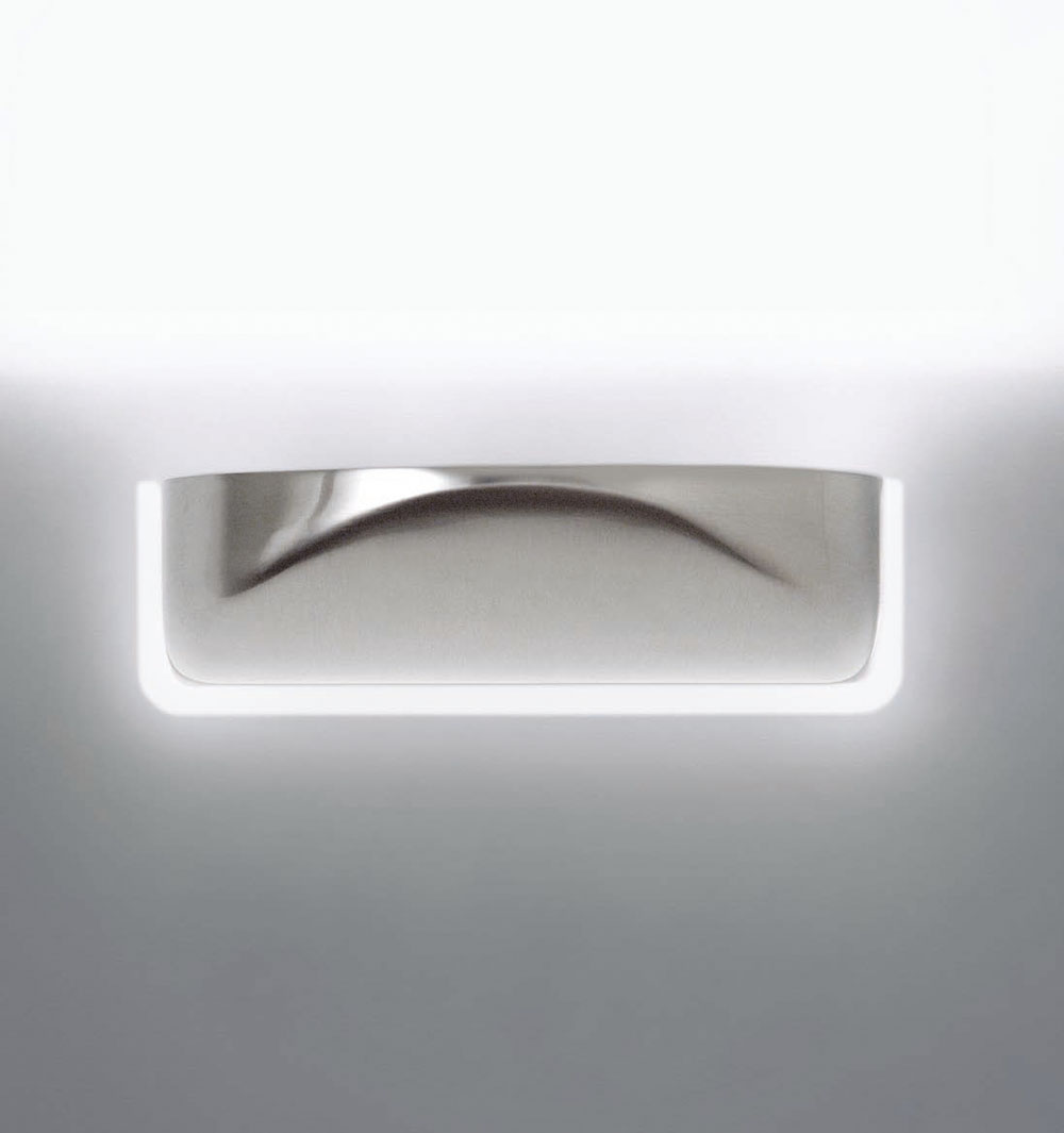 Vedette Wall Lamp baño nikel Satin