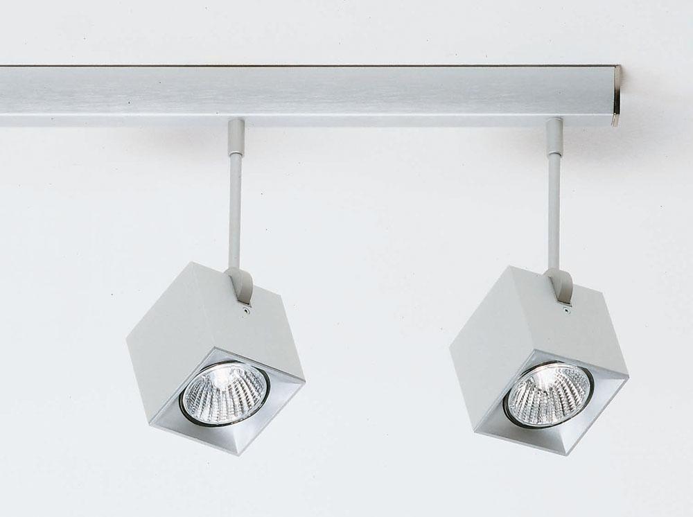 Dau Spot lead 4 Spotlights GU10 Aluminium Anodized