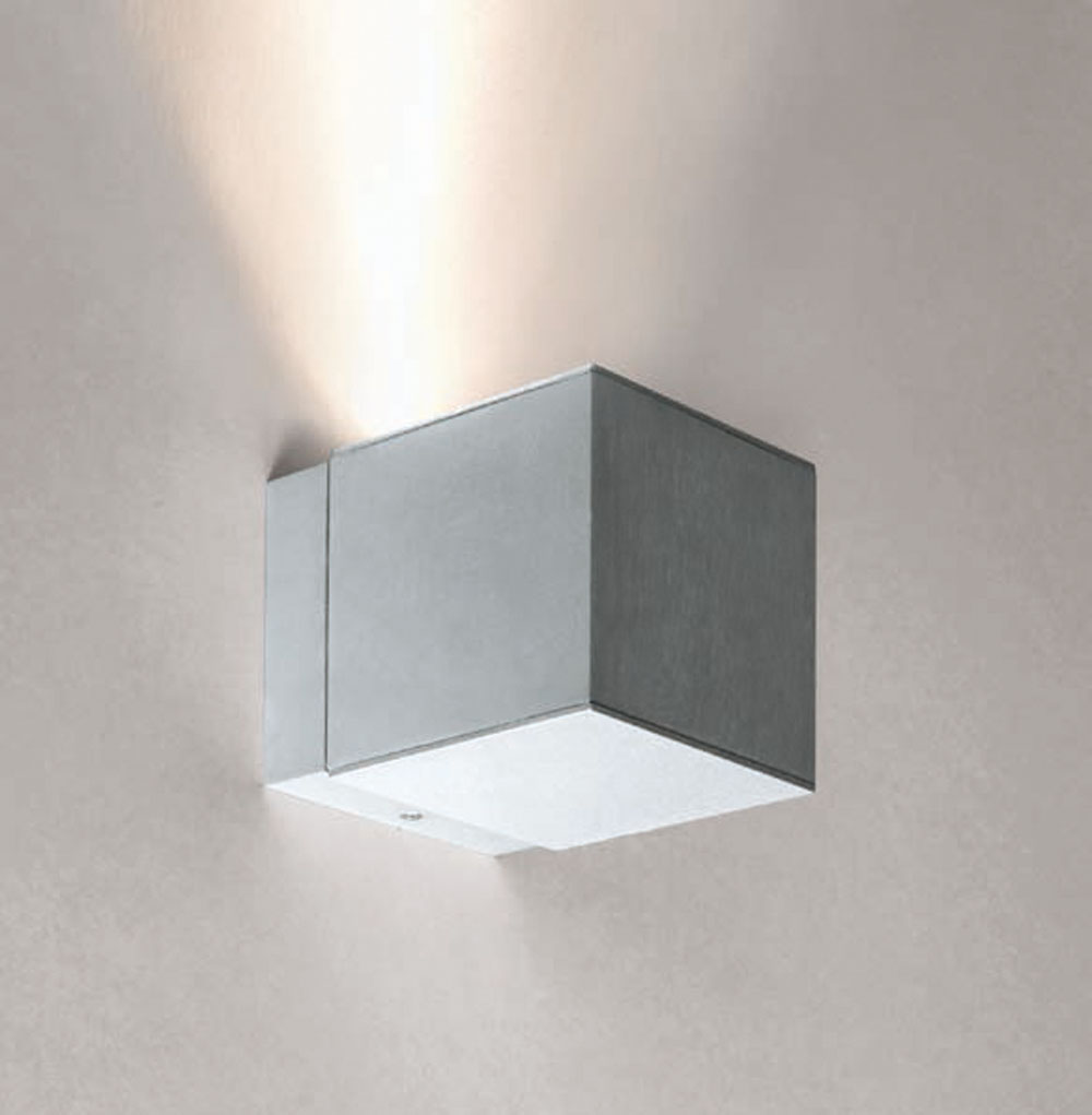 Dau Spot Wall Lamp 1 light GU10 Aluminium Anodized white