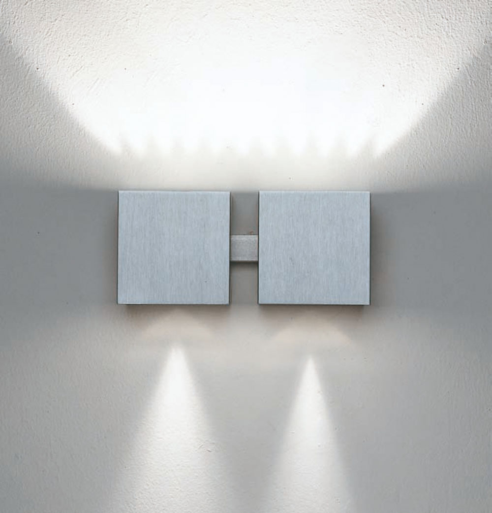 Dau Wall Lamp Doble 2 lights G9 Aluminium Anodized Black