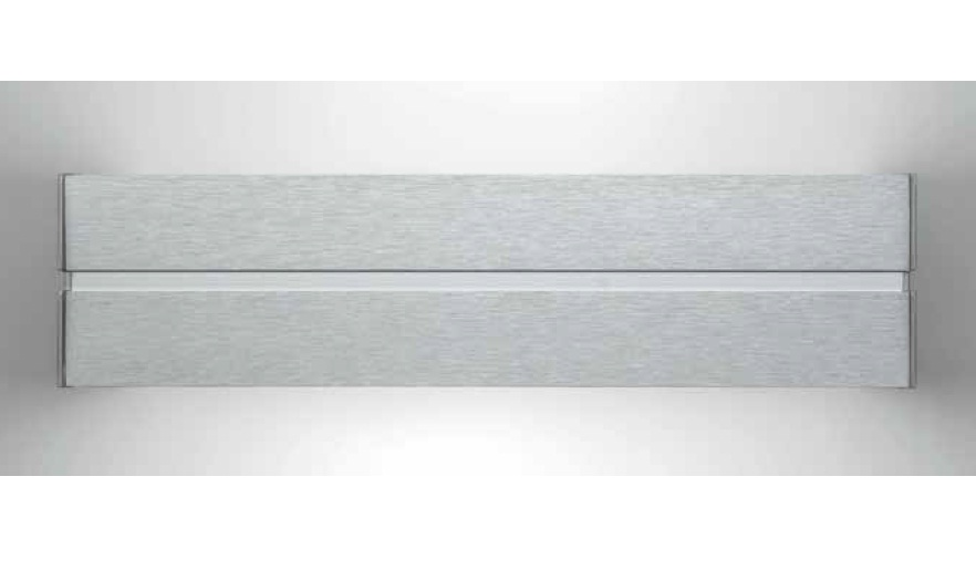 Linea Wall Lamp 90,7cm G5 2x39w without Glass Aluminium Anodized