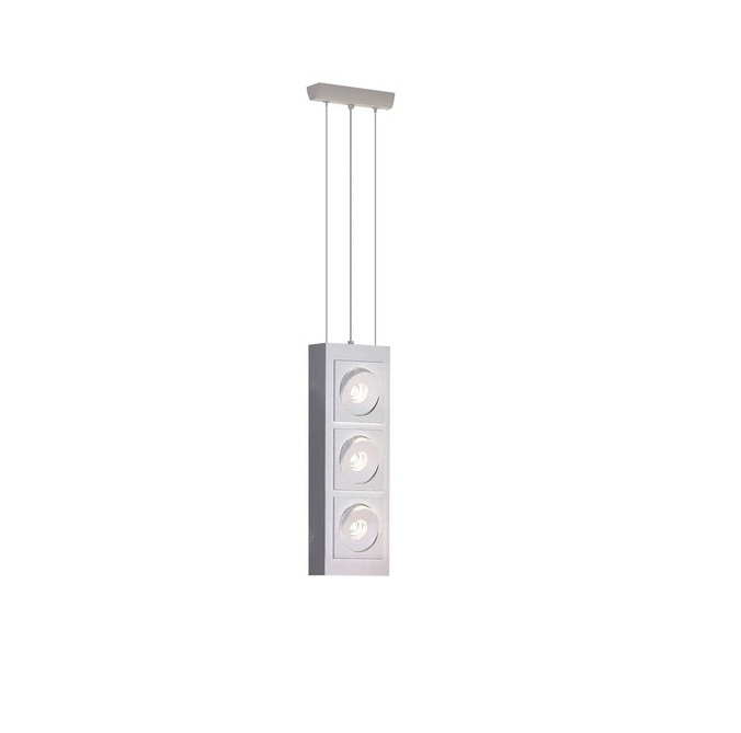 Marc Suspension carré LED 4x10w 2700K blanc