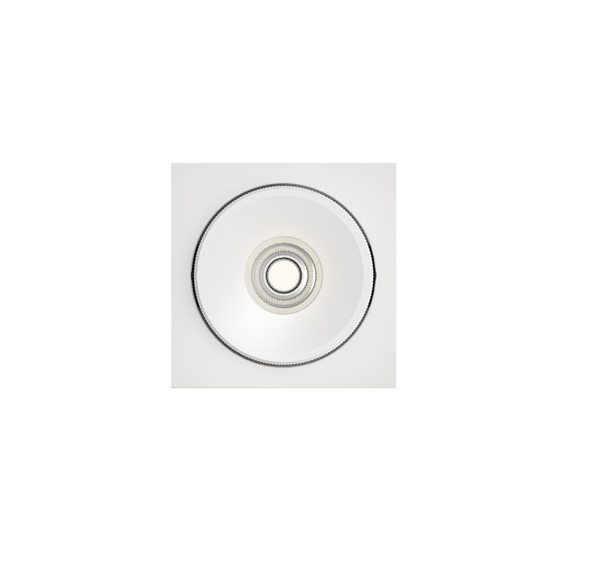 Marc ceiling lamp Recessed Square LED 1x10w 2700K white
