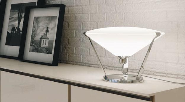 Rimbo Table Lamp ø40cm E27 30w Chrome