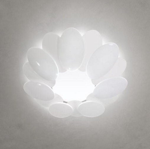 Obolo 6491 ceiling lamp white LED 1x28w