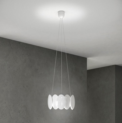 Obolo 6492 Pendant Lamp white LED 1x16w