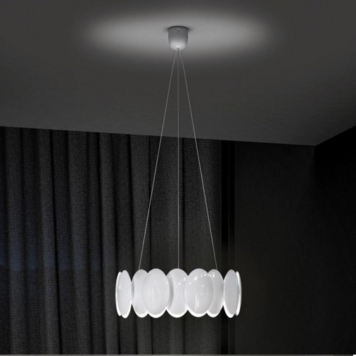 Obolo 6493 Pendant Lamp white LED 1x28w