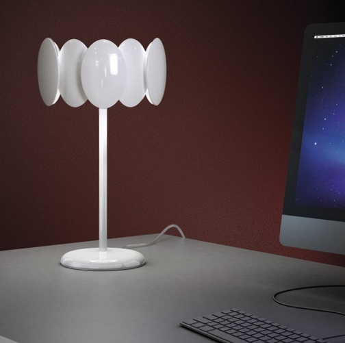 Obolo 6495 Table Lamp white LED 1x16w
