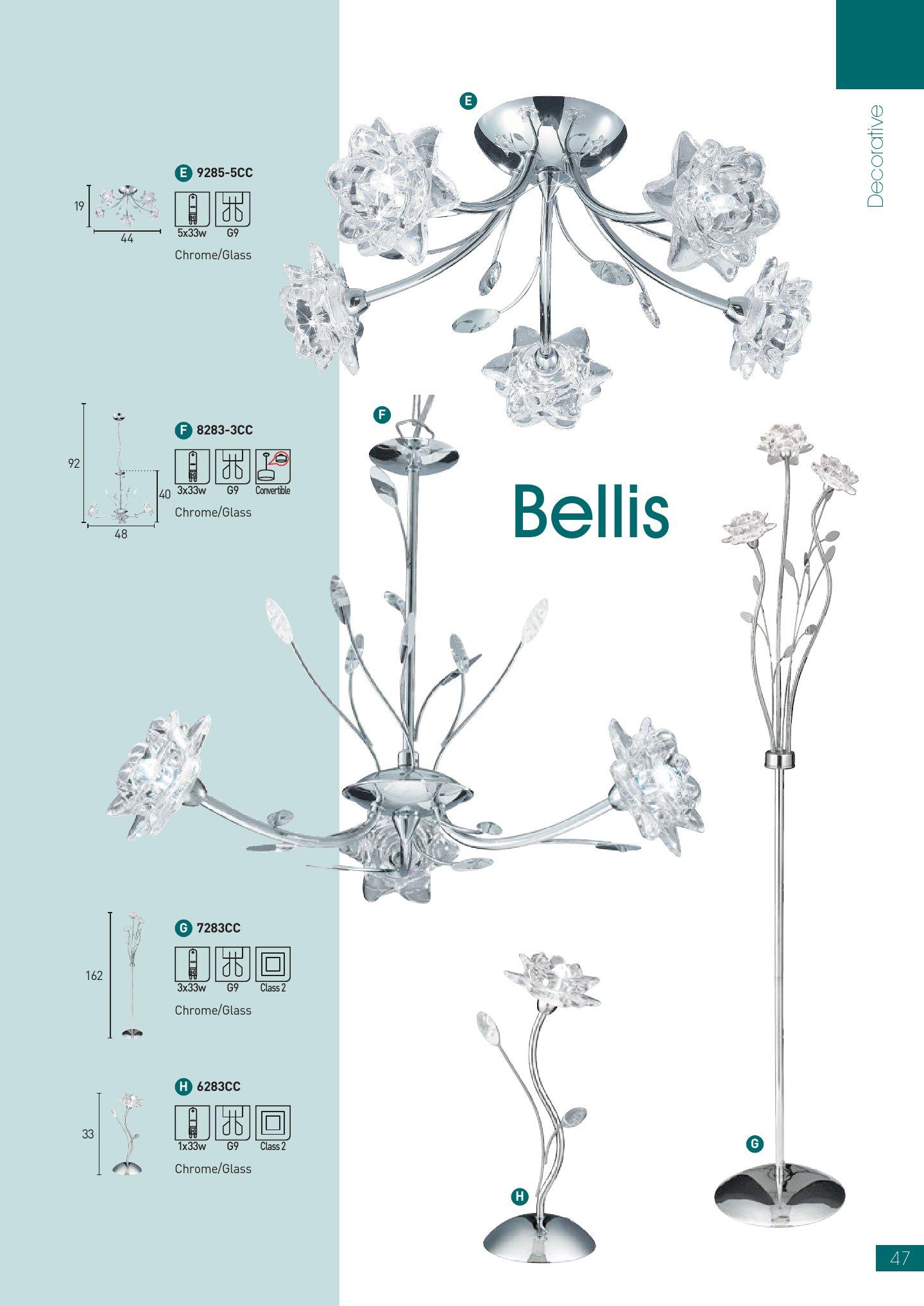Bellis EU6283CC Cromo