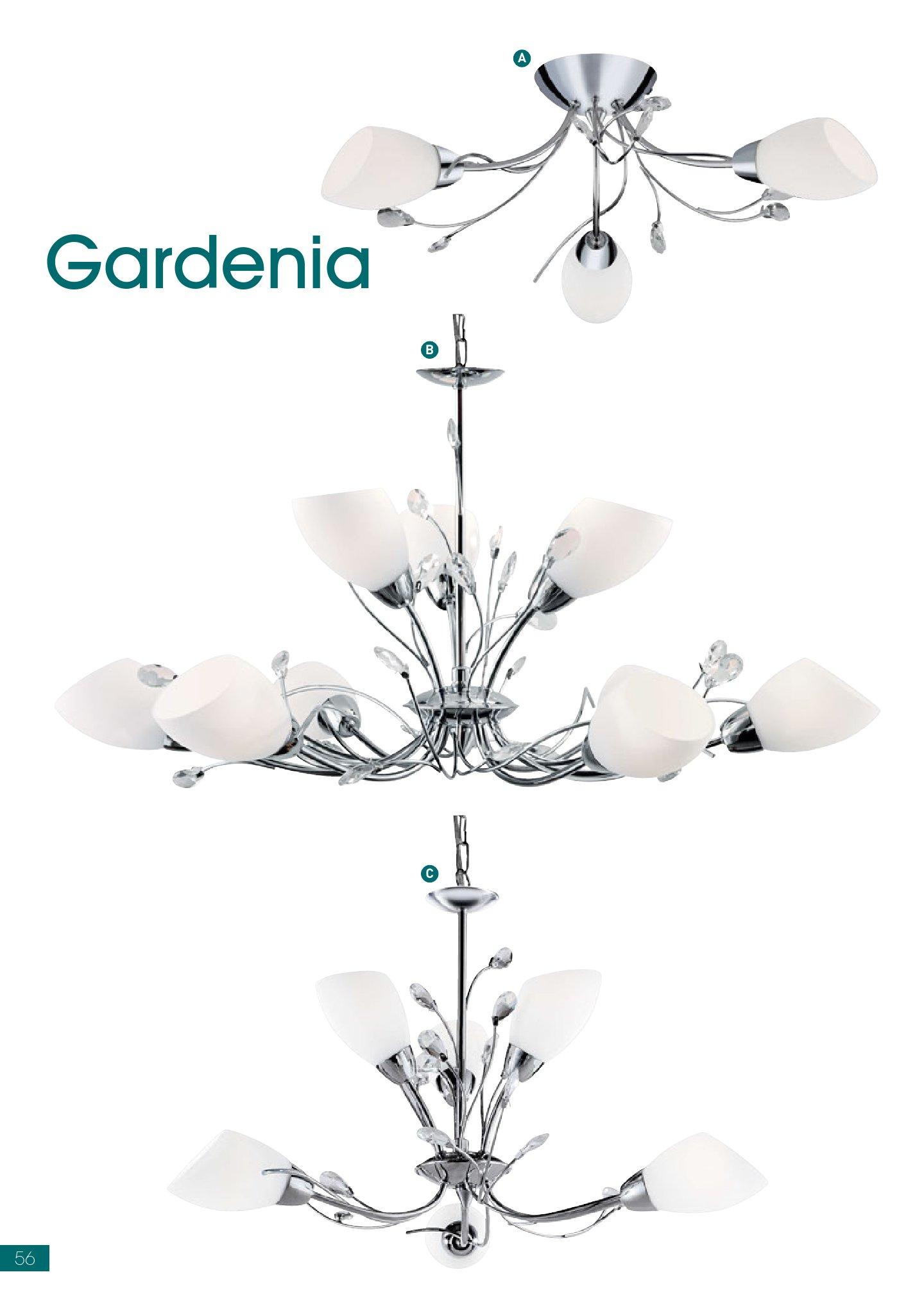Gardenia 2766 6CC Chrome