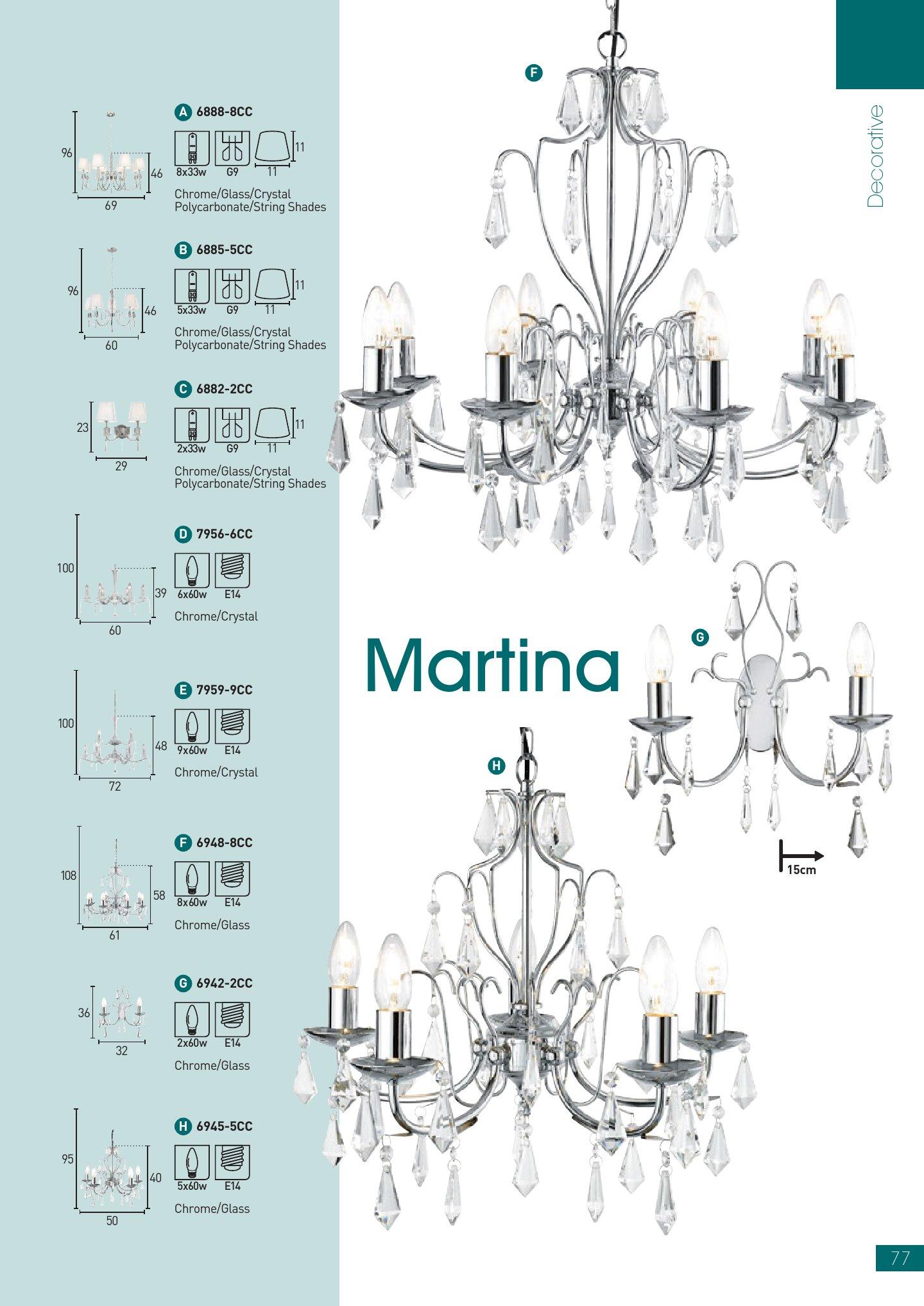 Martina 6945 5CC Chrome