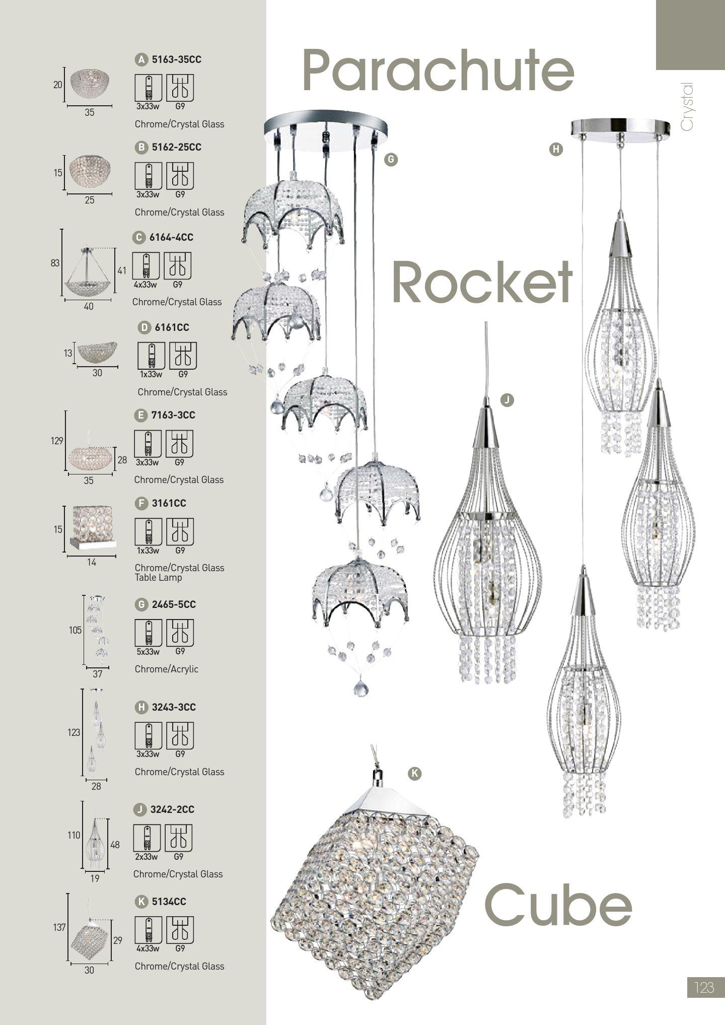 Rocket 3242 2CC Chrome