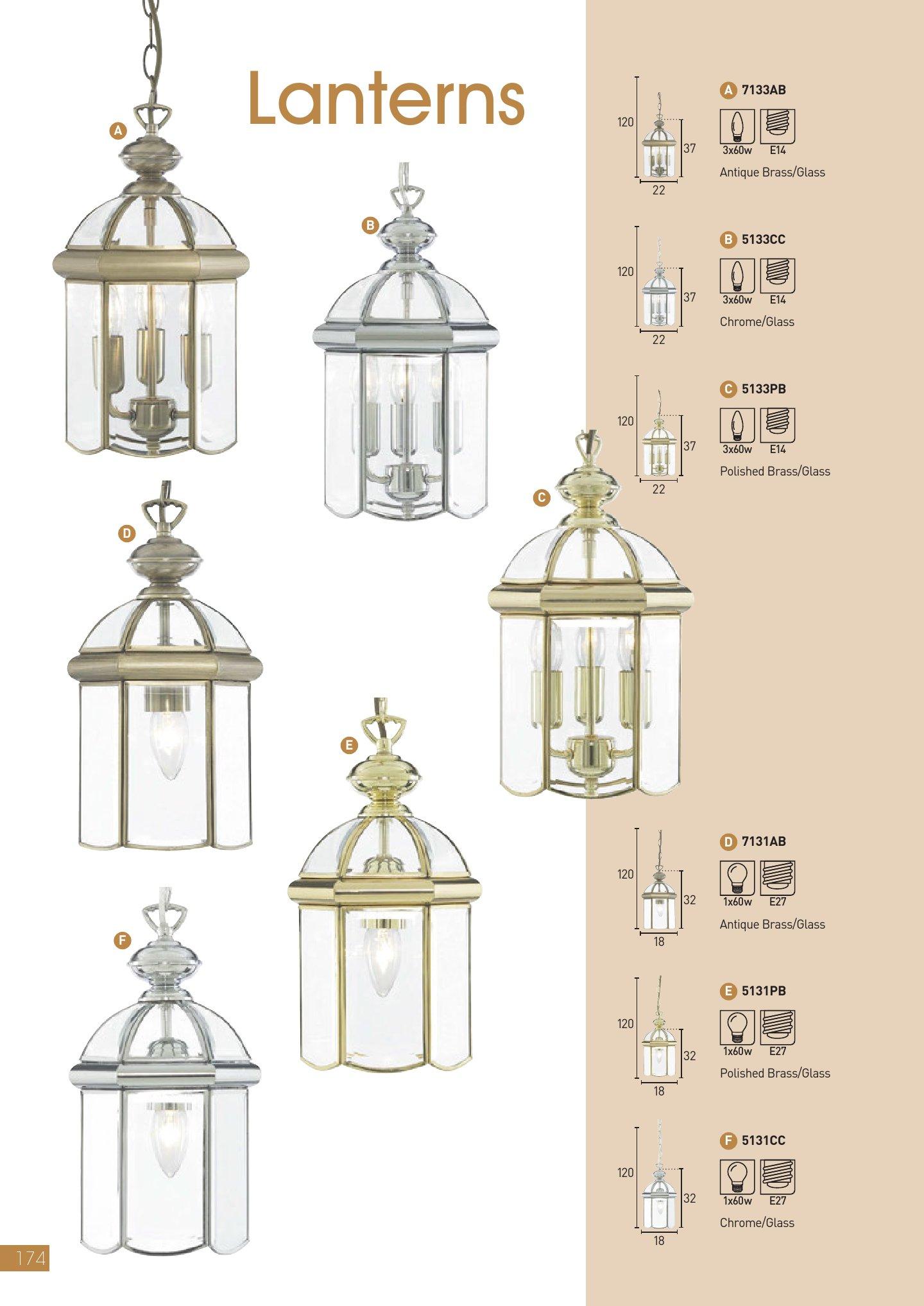Lanterns 5131CC Cromo