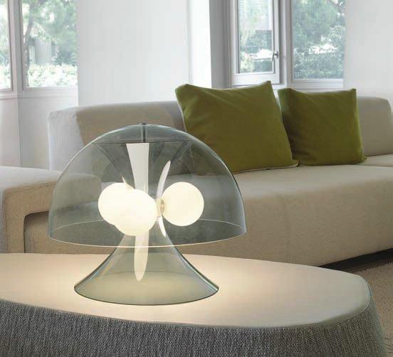 Acua 20 Table Lamp ø35cm Grey Ahumado