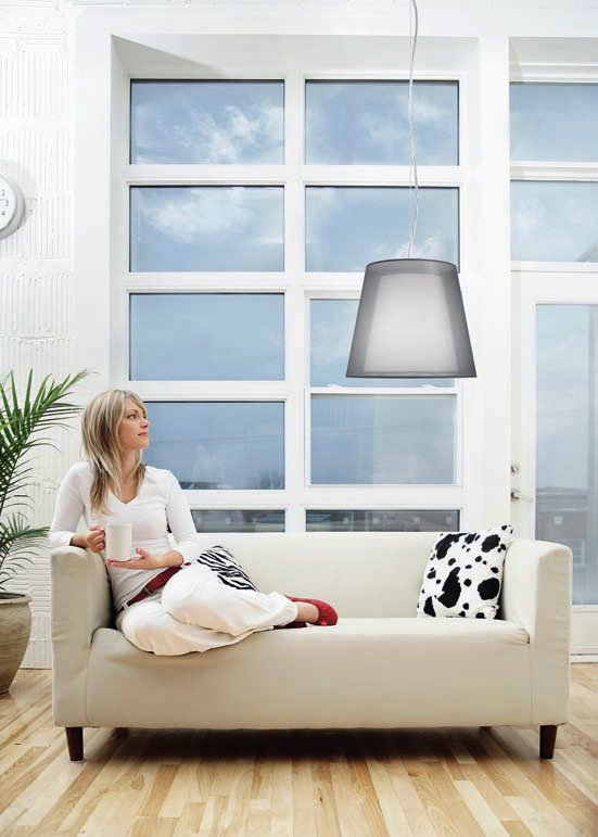 Clasica 1C60 Pendant Lamp ø60cm Lacquered white