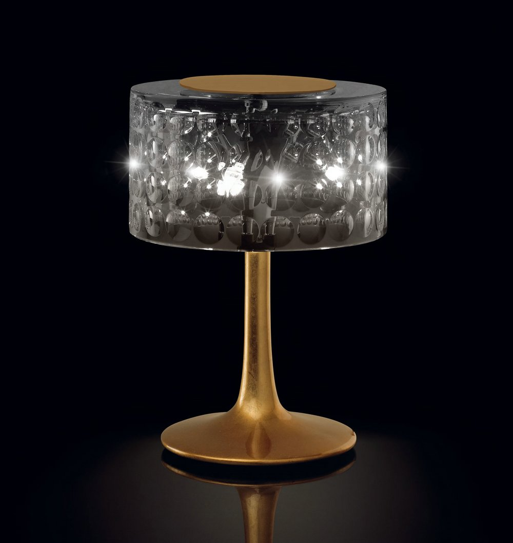 Andressa pop 20 Table Lamp ø26cm Lacquered white
