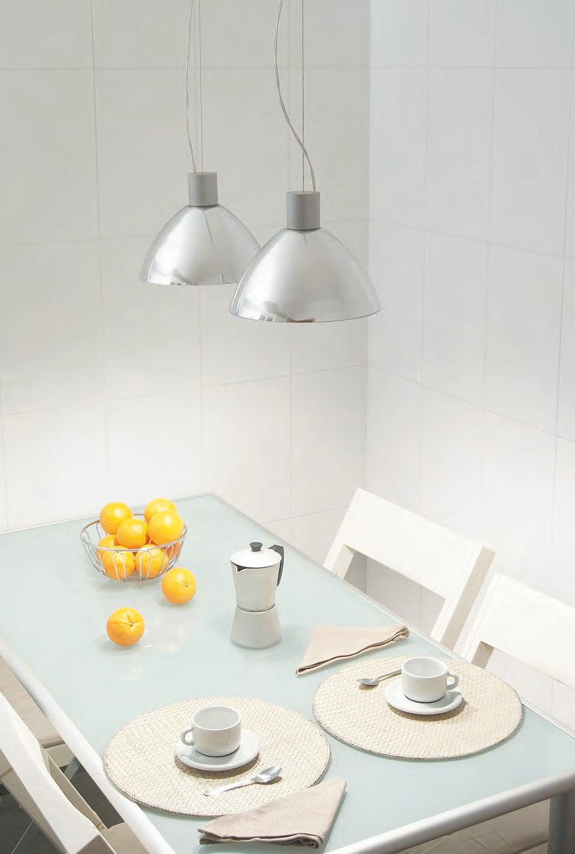 Luna 2C27 Pendant Lamp Doble Chrome