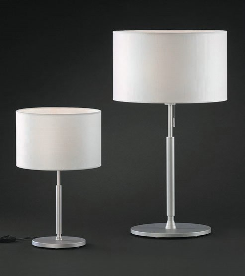 Natali 10 Table Lamp ø25cm Aluminium Matt mesh white