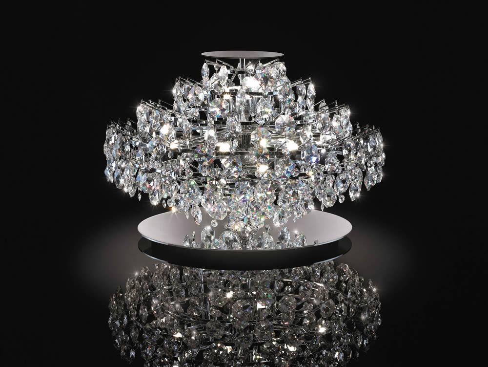 Amanda 20 Swarovski Glass Table Lamp