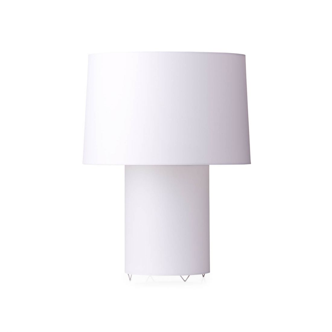 Double round light Table Lamp 1x60w E27 white