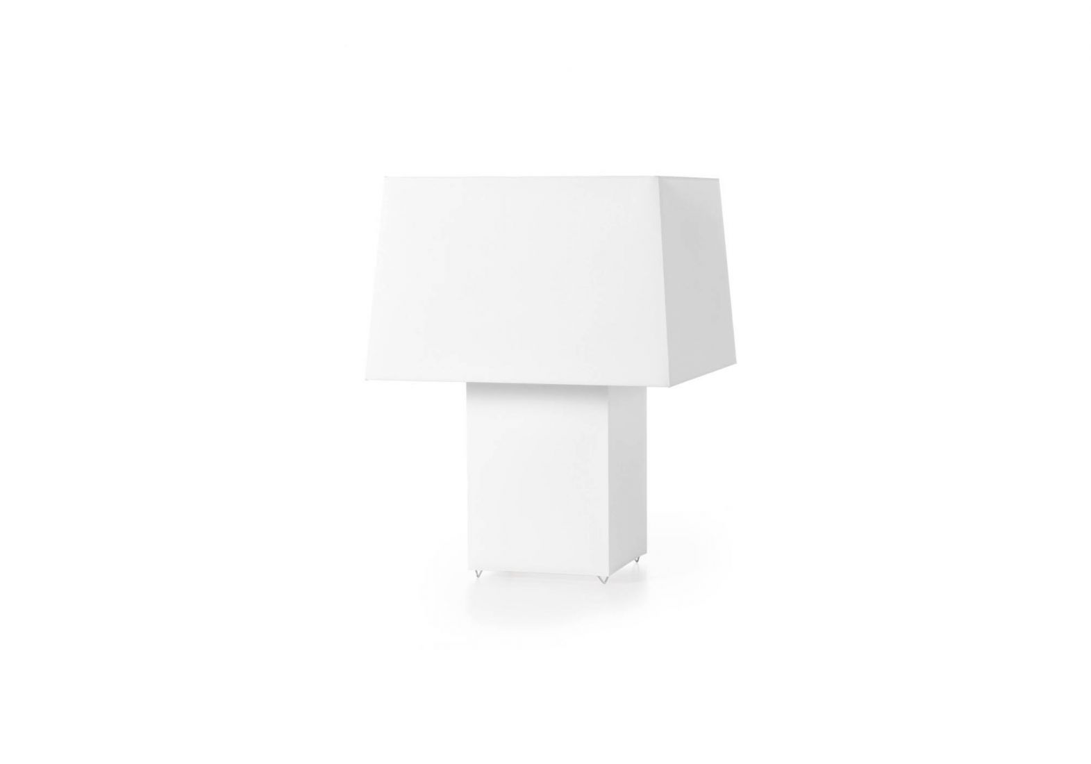 Double square light Table Lamp 1x60w E27 Black