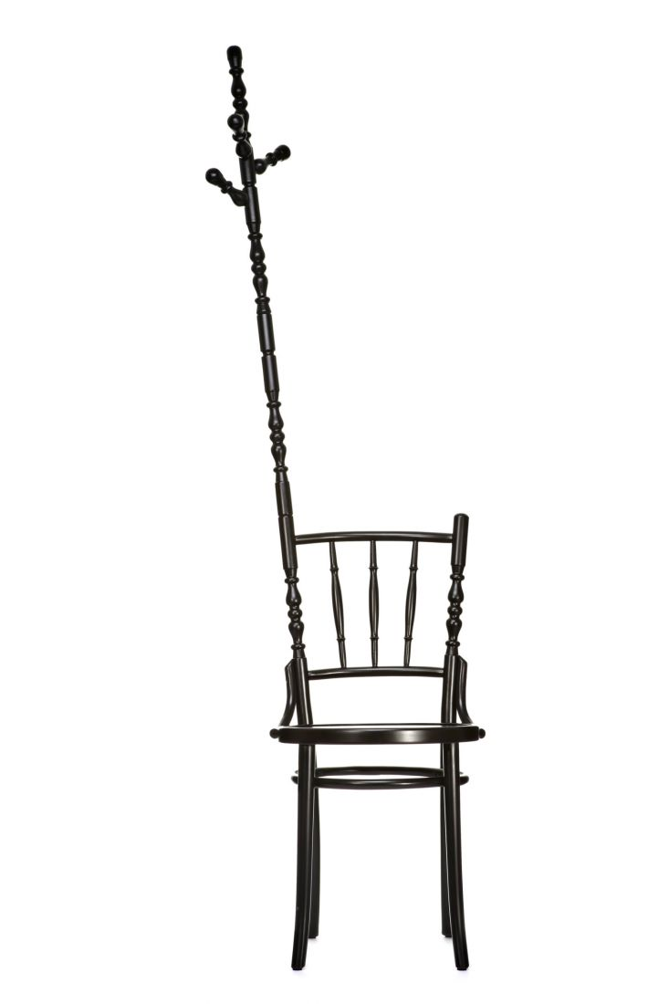 Extension Chair, Tarjetero