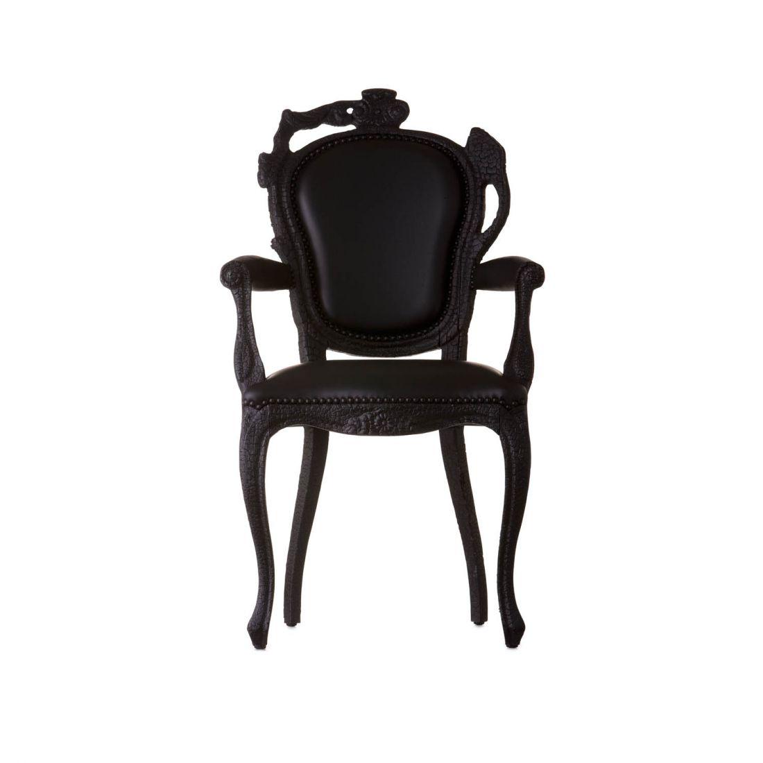 Smoke dining armchair, silla