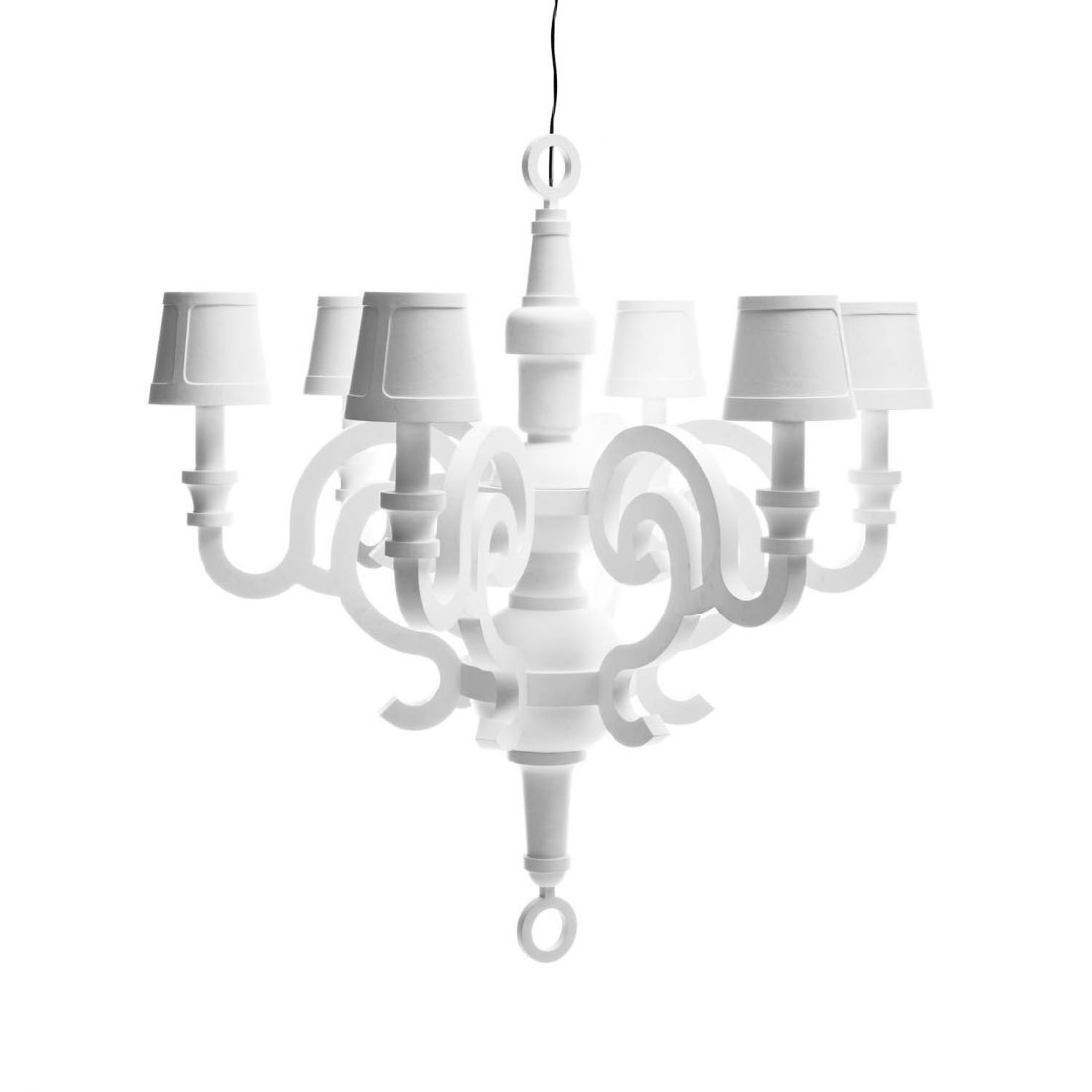 Paper chandelier XL Suspension 6x40w E14