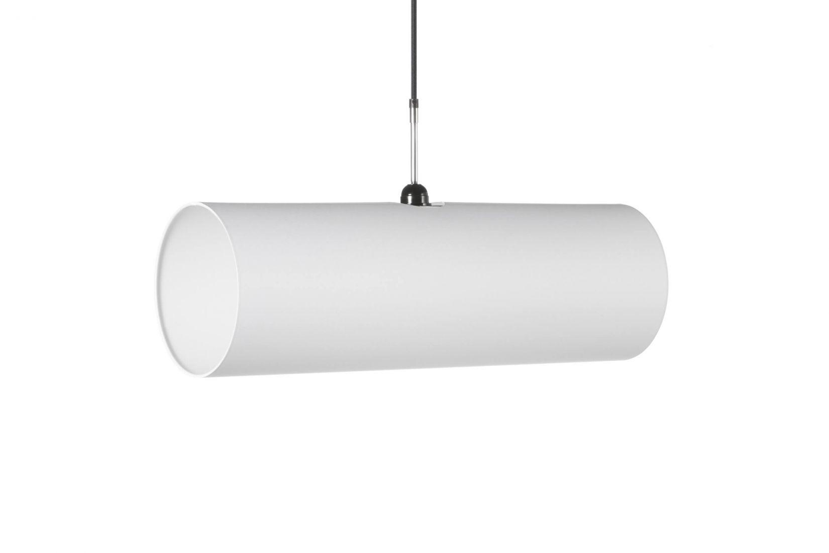 Tube Pendant Lamp 1x60 E27 white