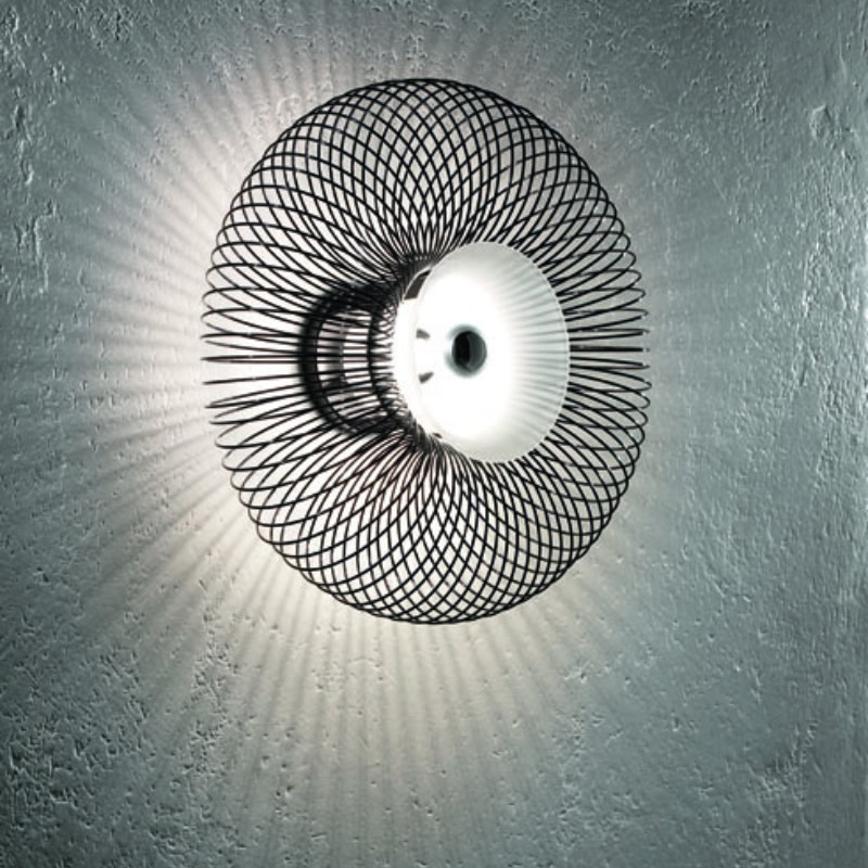 Spring PP Wall Lamp Black