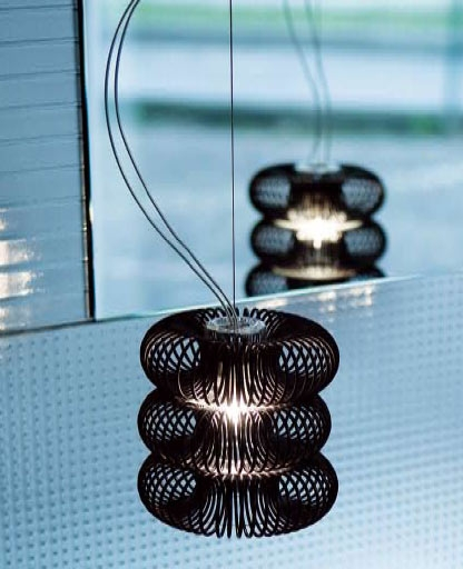 Spring SO Pendant Lamp Black