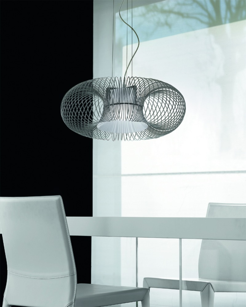 Spring SO 55 large Pendant Lamp white